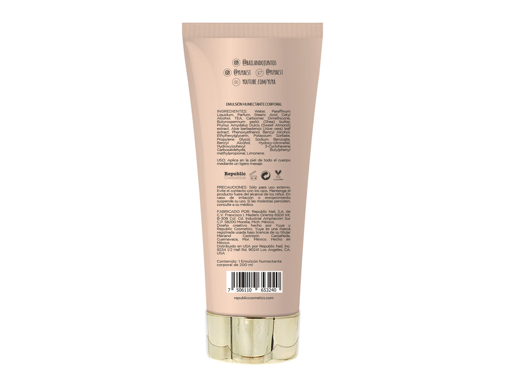 "Moisturizing body cream  ""Fruta, pa' mi, pa' ti, pa' todos"" - Republic Cosmetics US"