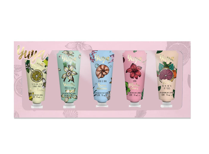 YUYA 5 MINI BODY LOTION SET 30 ml each - Republic Cosmetics US