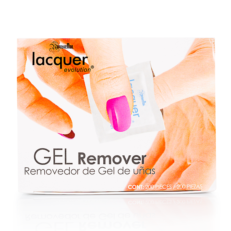 Gel Remover 200 Pads Package - Republic Cosmetics US
