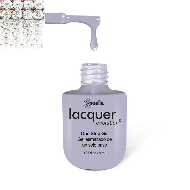 "Gel Lacquer Evolution ""Lilac Gray"" - Republic Cosmetics US"