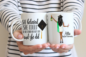 College Graduation Gift for Her, Personalized Graduation Mug