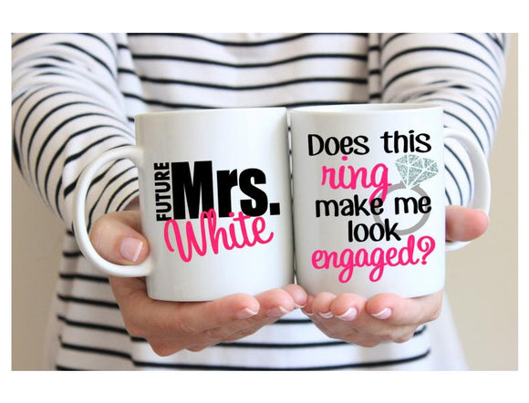 Does This Ring Make Me Look Engaged? - Future Mrs. Mug