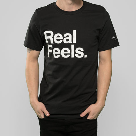 Real Feels Vintage Black Tee