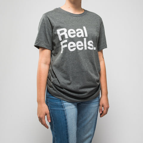 Real Feels Deep Heather Tee