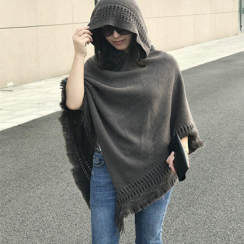 Witch Hooded Cloak/Poncho