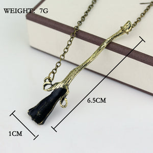 Magic Broomstick Necklace