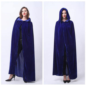 Long Hooded Witch Robe