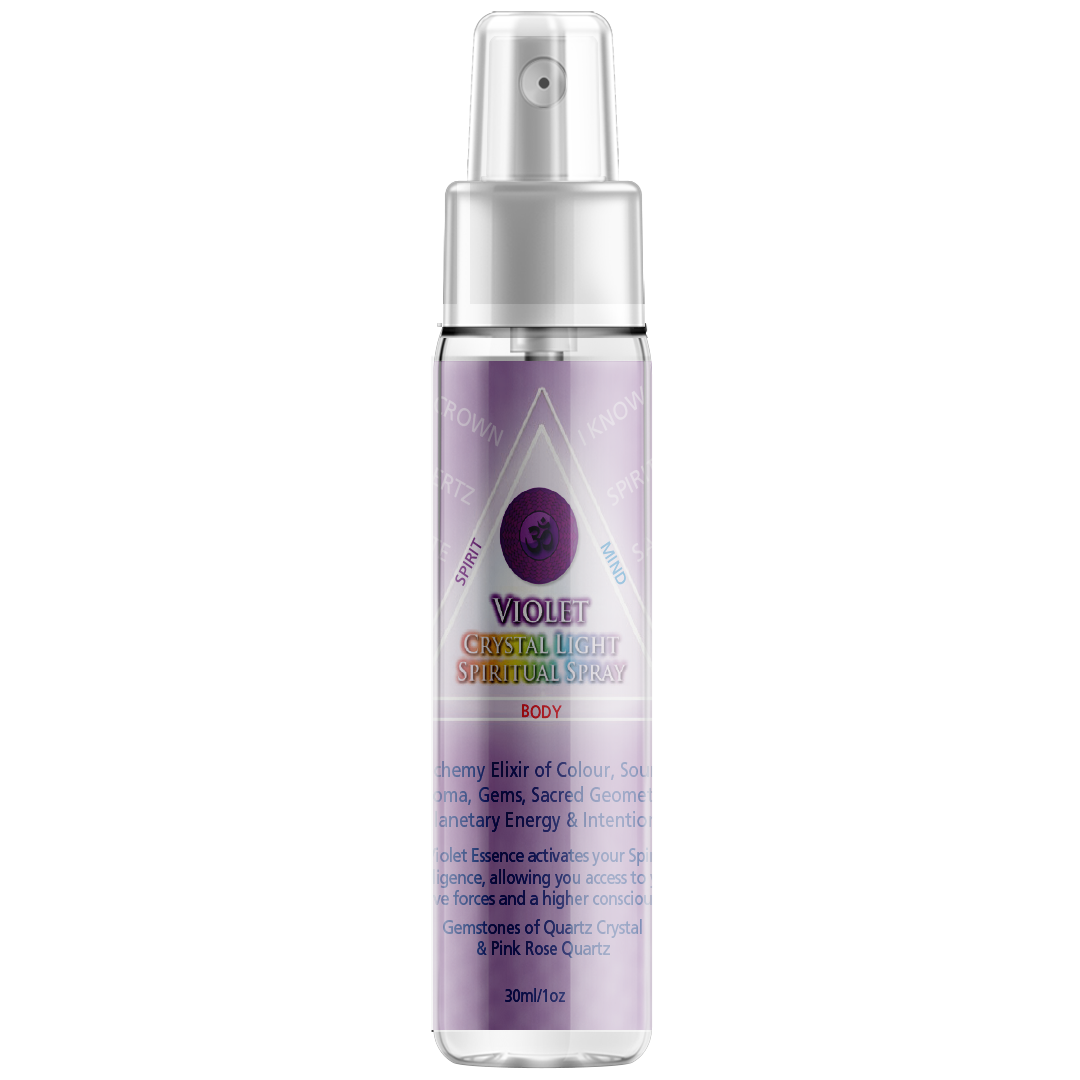 Crystal Light Spiritual Sprays, 30ml Spray