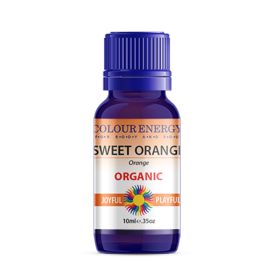 Orange (Sweet) Essential Oil, Organic