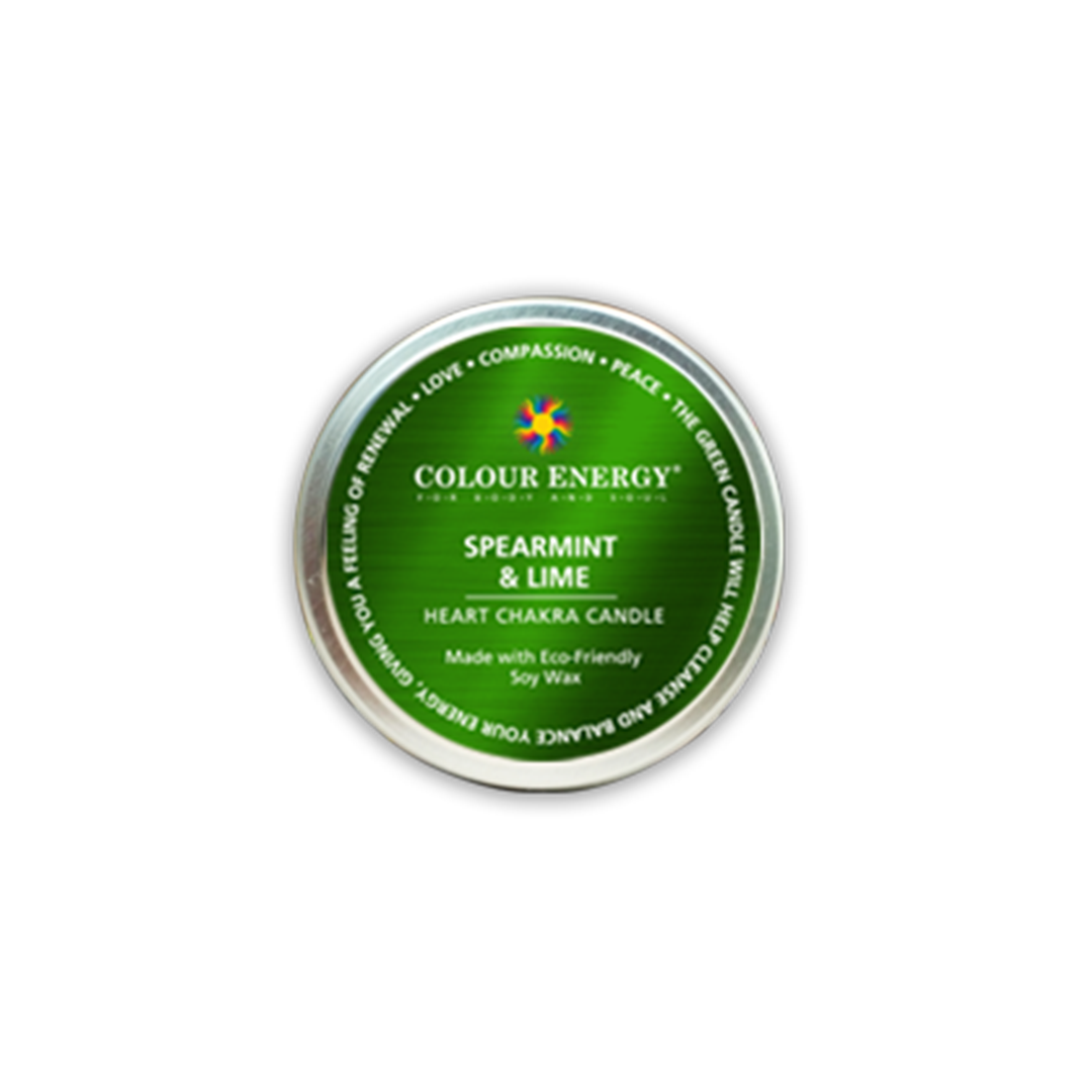 Green Soy Candle with Spearmint & Lime