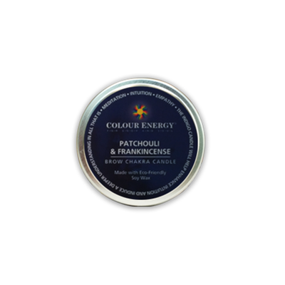 Indigo Soy Candle with Patchouli & Frankincense