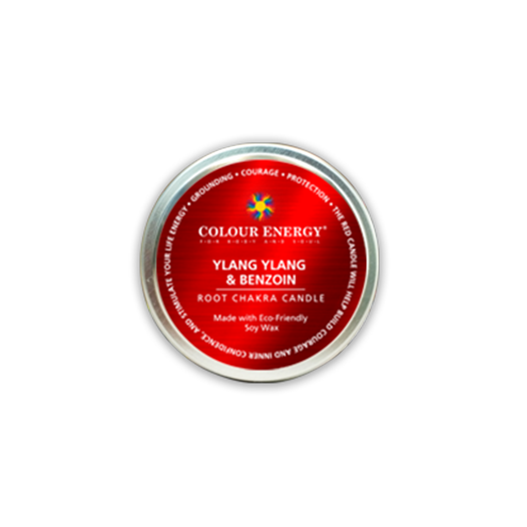 Red Soy Candle with Ylang Ylang & Benzoin