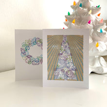 Load image into Gallery viewer, Greeting Card, Crystal Tree