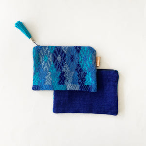 Second-life Pouch Coban, Small, Blue/Aqua