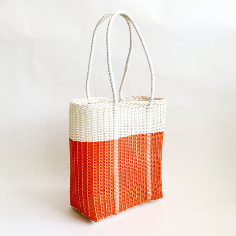 Commuter Market Bag, Bright Orange