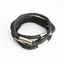Load image into Gallery viewer, Aroma Therapy Bracelet, Relaxingng, Grey & Silver