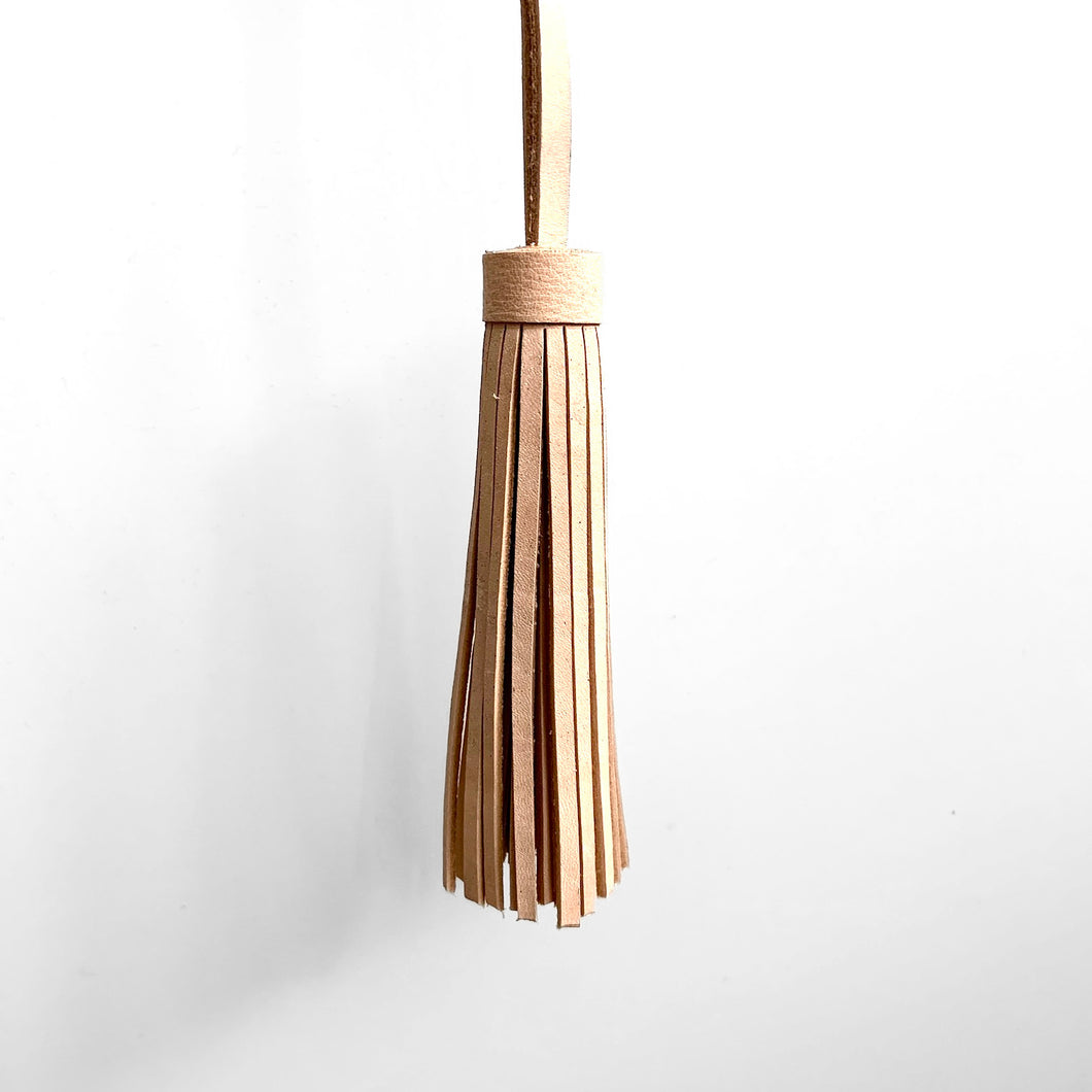 Tassel, Natural Leather