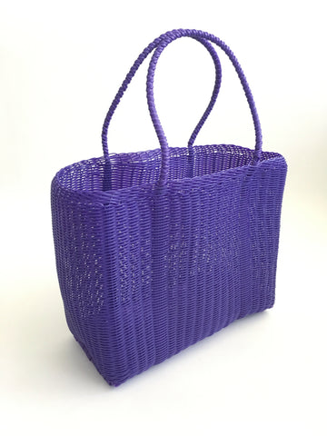 Classic Market Bag, Purple