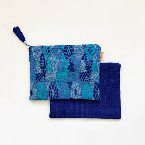 Second-life Pouch Coban, Medium, Blue/Blue