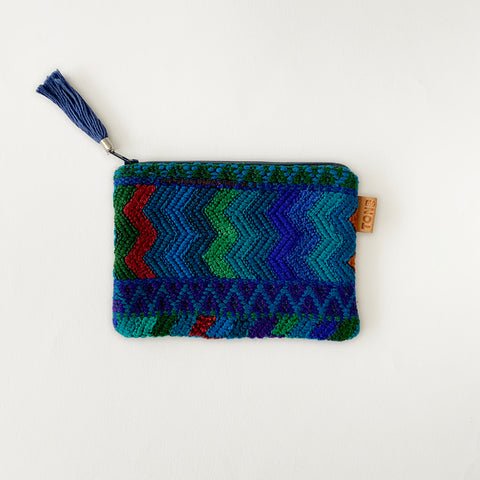 Second-life Pouch SPC Small, Blue/Blue