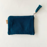 Second-life Pouch SPC Small, Teal/Teal
