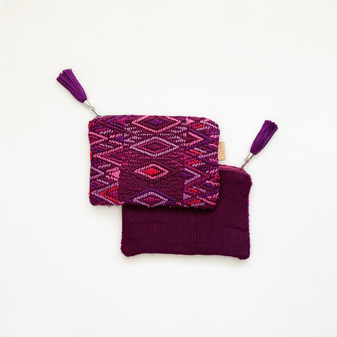 Second-life Pouch SMJ, Small, Plum