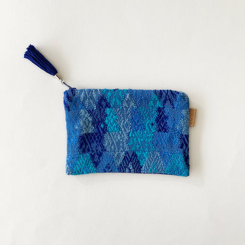 Second-life Pouch Coban, Small, Blue/Blue