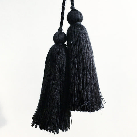 Tassel Pair, Black
