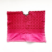 Load image into Gallery viewer, Second-life Pouch Toto, Geo, Small, Fuschia/Deep Magenta