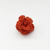 Lapel Bloom, Burnt Orange