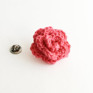 Lapel Bloom, Coral