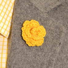 Load image into Gallery viewer, Lapel Bloom, Marigold