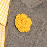 Lapel Bloom, Marigold
