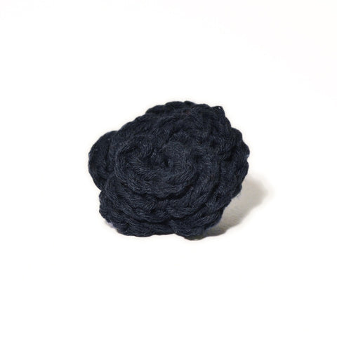 Lapel Bloom, Navy