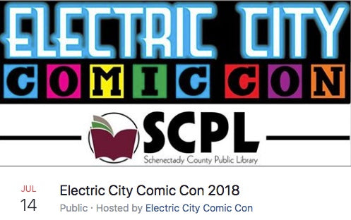 Electric City Comic Con 2018
