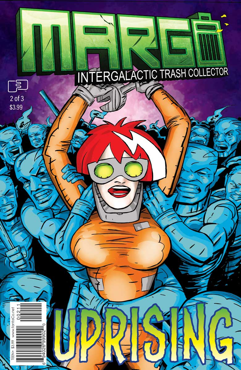 Margo Intergalactic Trash collector #2 (of 3) Direct Edition