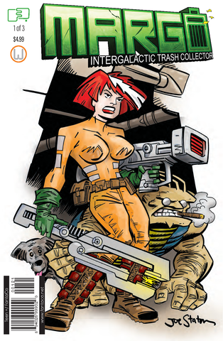Margo Intergalactic Trash Collector#1 -Joe Staton Variant-Direct Edition -Pre-order-