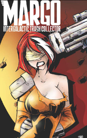 Margo Intergalactic Trash Collector #2-Uprising (variant)-Kickstarter Edition