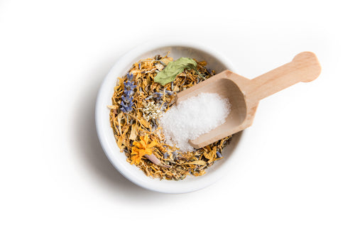 Herbal Bath Blend-Caring Coconut