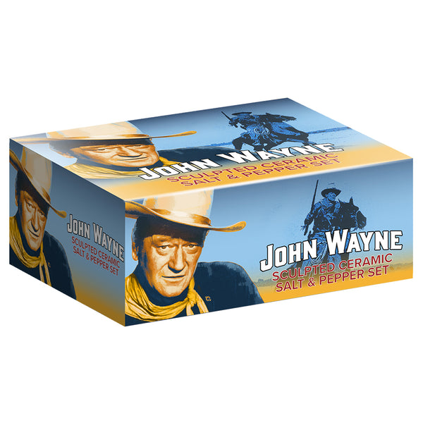John Wayne Boots Sculpted Ceramic Salt & Pepper Set