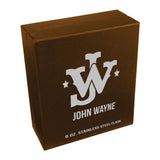 John Wayne 6 oz. Stainless Steel Flask