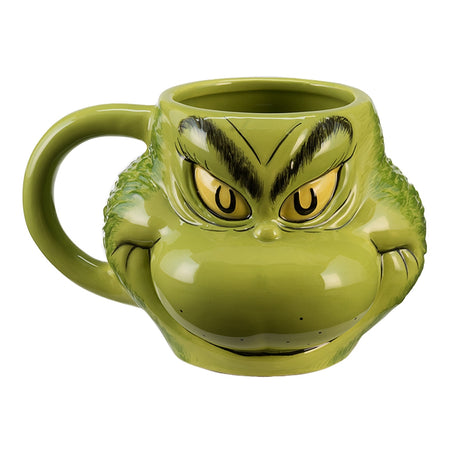 Dr. Seuss The Grinch Cindy Lou Who 20 oz. Sculpted Ceramic Mug