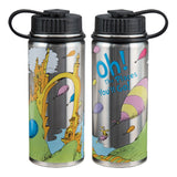 Dr. Seuss Oh the Places You'll Go 18 oz. Vacuum Insulated Stainless Steel Bottle