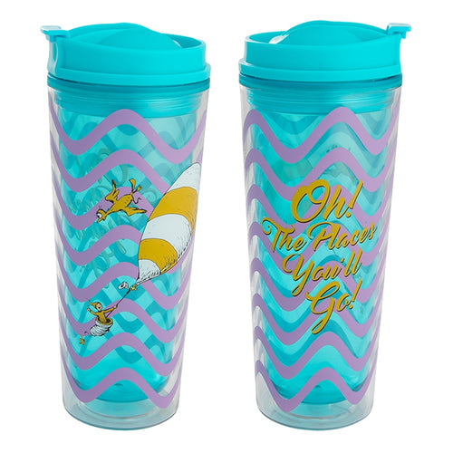 Dr. Seuss Oh the Places You'll Go 16 oz. Acrylic Tumbler