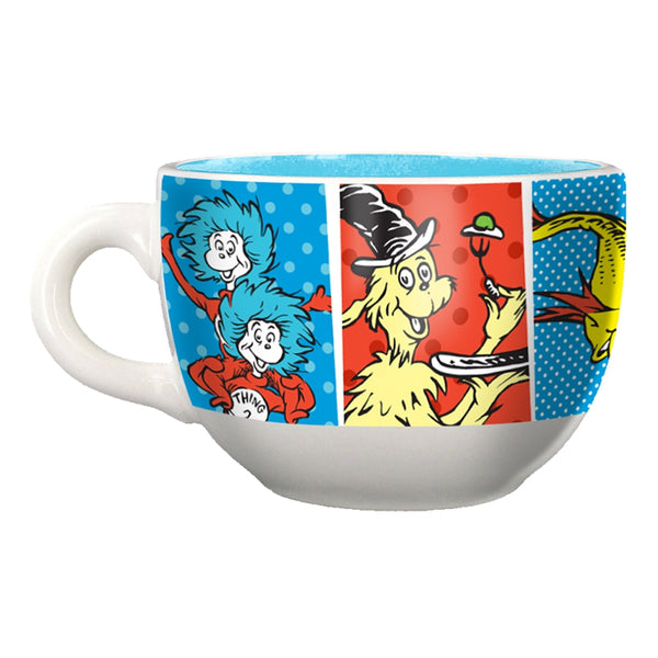 Dr. Seuss The Cat in the Hat 20 oz. Ceramic Soup Mug