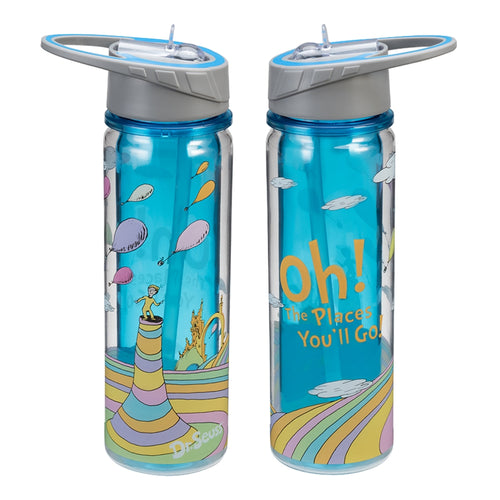 Dr. Seuss Oh the Places You'll Go 18 oz. Tritan Water Bottle