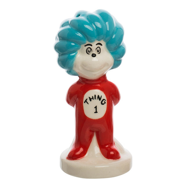 Dr. Seuss Thing 1 & 2 Sculpted Ceramic Salt & Pepper Set