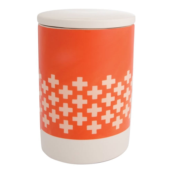 1canoe2 Coral Cross Stitch Canister