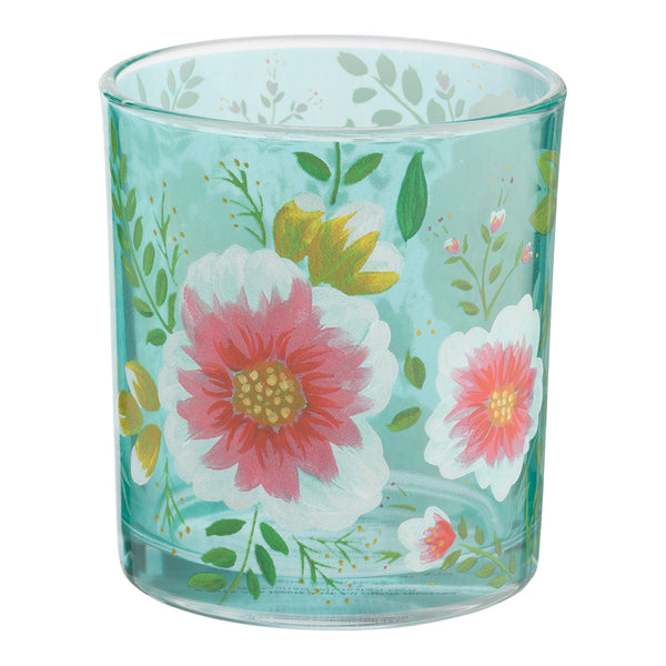 Ana Davis Camila Surf & Marigold Highball Glasses - Set of 2