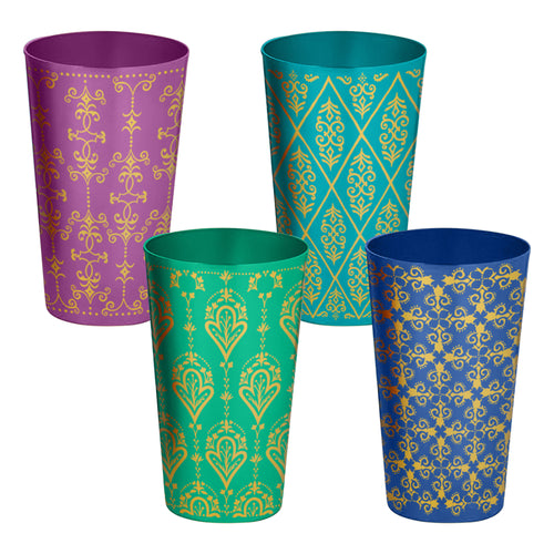 Ana Davis Luciana 20 oz. Aluminum Cups - Set of 4